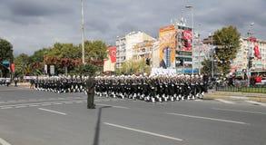 10月29日共和国土耳其的天庆祝 图库摄影