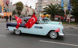 10月29日共和国土耳其的天庆祝 库存照片