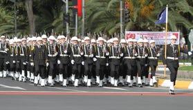 10月29日共和国土耳其的天庆祝 库存图片