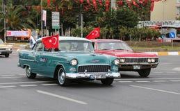 10月29日共和国土耳其的天庆祝 免版税图库摄影