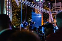 8月30日土耳其胜利天音乐会 免版税图库摄影