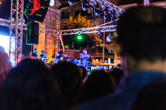 8月30日土耳其胜利天音乐会 图库摄影
