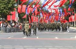 8月30日土耳其胜利天 图库摄影