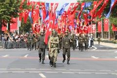 8月30日土耳其胜利天 免版税库存图片