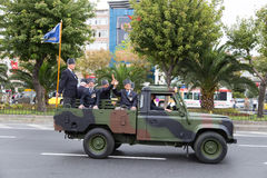 8月30日土耳其胜利天 库存照片