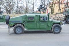 11月18日独立游行在拉脱维亚 库存图片