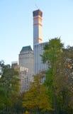 2014年11月10日的中央公园在曼哈顿,纽约,美国 库存照片