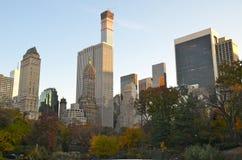 2014年11月10日的中央公园在曼哈顿,纽约,美国 库存图片