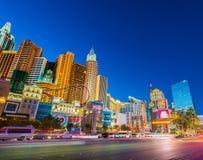 12月21日的新的约克新的约克赌博娱乐场 免版税库存图片