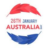 1月26日的澳大利亚天 免版税库存照片