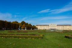 10月14日的美泉宫在维也纳, 图库摄影
