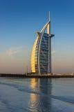 2012年11月15日的Burj Al阿拉伯旅馆在迪拜 免版税库存照片