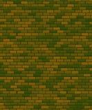2月23日背景 祖国天的防御者 绿色砖 向量例证