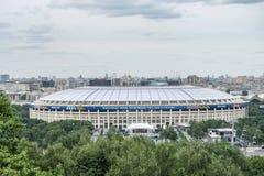 6月2018 14日莫斯科,俄罗斯 国际足球联合会2018年世界第一次比赛Fo 免版税库存图片