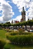 17 6月2012日被采取的灯塔老照片波兰sopot 免版税库存照片