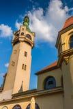 17 6月2012日被采取的灯塔老照片波兰sopot 免版税图库摄影
