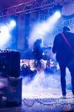 5月19日青年时期和体育天节日音乐会 免版税库存照片
