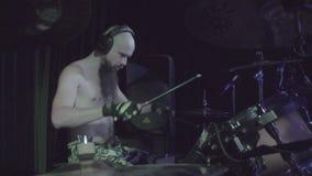 2016年10月7日,俄罗斯,莫斯科,协调的乐曲摇滚乐队邪恶的隆隆声