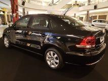 2016年10月1日,吉隆坡 大众在山顶USJ商业区的汽车显示,马来西亚 免版税图库摄影