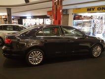 2016年10月1日,吉隆坡 大众在山顶USJ商业区的汽车显示,马来西亚 免版税库存照片