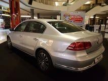 2016年10月1日,吉隆坡 大众在山顶USJ商业区的汽车显示,马来西亚 免版税库存图片