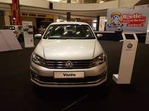 2016年10月1日,吉隆坡 大众在山顶USJ商业区的汽车显示,马来西亚 库存照片