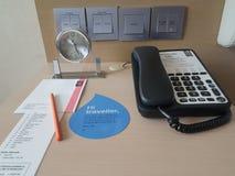2016年11月5日,柔佛州马来西亚 旅馆Puteri港口柔佛州内部室设计  免版税库存图片