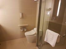 2016年11月5日,柔佛州马来西亚 旅馆Puteri港口柔佛州内部室设计  库存照片