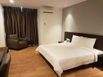 2016年10月9日,蒲种路,吉隆坡 今天是山顶署名旅馆OUG吉隆坡软的开头  免版税图库摄影