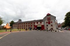 2017年7月29日,蒸馏器走, Midleton, Co黄柏,爱尔兰-禁止在詹姆森经验里面,  免版税图库摄影