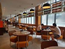 2016年11月4日,仁爱路旅馆Habour柔佛州Baru,柔佛州 港口Café是一个整天用餐的出口 库存图片