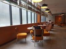 2016年11月4日,仁爱路旅馆Habour柔佛州Baru,柔佛州 港口Café是一个整天用餐的出口 免版税库存照片