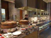 2016年11月4日,仁爱路旅馆Habour柔佛州Baru,柔佛州 港口Café是一个整天用餐的出口 免版税图库摄影