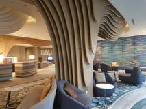 2016年11月8日,仁爱路Puteri港口旅馆柔佛州Baru,马来西亚大厅休息室设计 图库摄影
