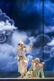 2015年12月13日, Khon是舞蹈戏曲泰国古典掩没, 库存图片