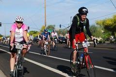 2014年4月5日, Mesa,亚利桑那,美国, El Tour de Mesa,社论 库存图片