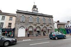 2017年7月29日, Midleton,黄柏,爱尔兰- Midleton图书馆的外部视图 免版税图库摄影