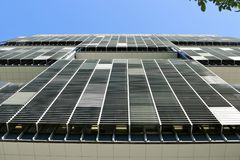 2015年3月25日, - Petrobras, (巴西的国有石油公司)在里约热内卢总部设 免版税库存图片
