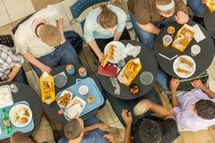 2014年10月2日:华盛顿特区, -内部观点的人移动 库存照片