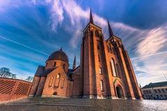 2016年12月04日:圣卢克大教堂的前面在Roski 免版税库存图片
