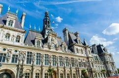 巴黎- 2012年9月14日:市长办公室 库存照片