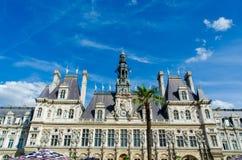 巴黎- 2012年9月14日:市长办公室 免版税库存照片