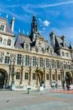 巴黎- 2012年9月14日:市长办公室 免版税图库摄影