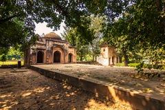 2014年10月27日:清真寺在Lodi庭院里在新德里,印度 免版税图库摄影