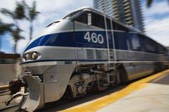 2016年5月06日:美国国家铁路公司#460 库存照片
