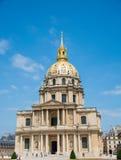 巴黎- 2012年9月15日:9月15日的荣军院议院 免版税库存照片