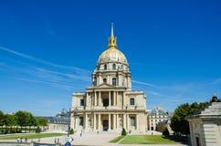 巴黎- 2012年9月15日:9月15日的荣军院议院 库存图片