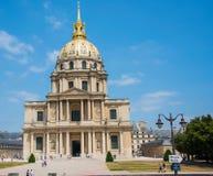 巴黎- 2012年9月15日:9月15日的荣军院议院 免版税库存图片