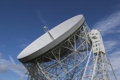 2016年9月25日 卓瑞尔河岸天文台,彻斯特,英国 的treadled 库存照片