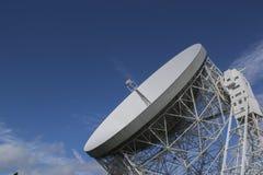 2016年9月25日 卓瑞尔河岸天文台,彻斯特,英国 的treadled 图库摄影